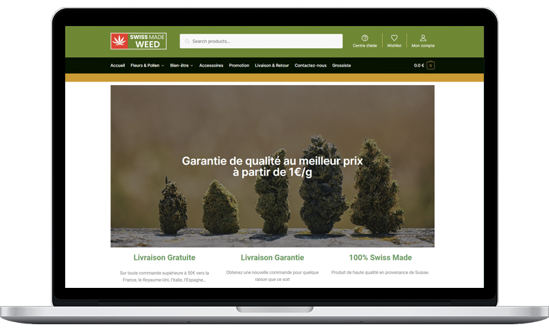avis swiss made weed