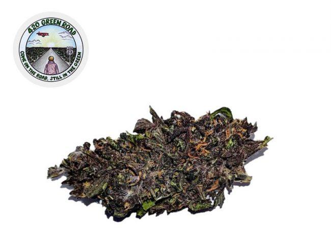 Purple Afghan Kush Fleur CBD 7% Greenhouse - 420 Green Road