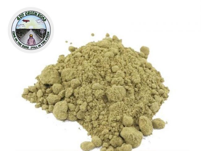 Powder Hash Pollen CBD 10% - 420 Green Road