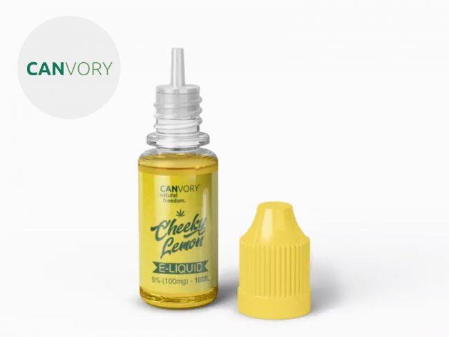 E liquide Cheeky Lemon CBD (500mg) - Canvory