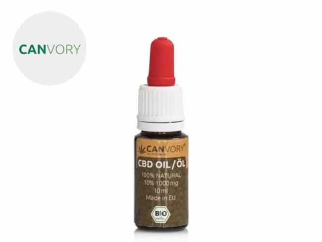 Huile CBD 10% Bio (10ml) - Canvory