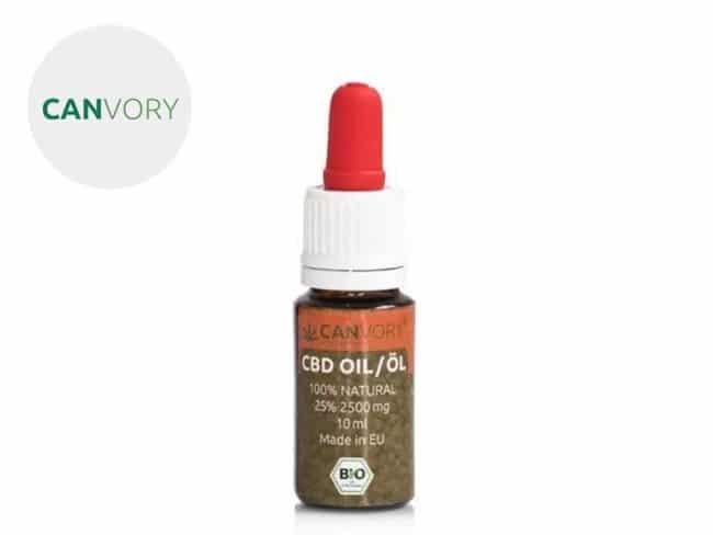 Huile CBD 20% Bio (10ml) - Canvory