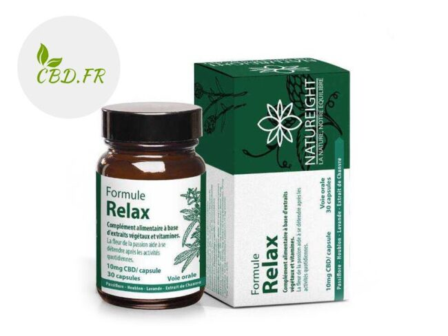 Capsules CBD Relax 300mg - Natureight