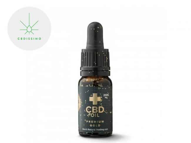 Huile CBD 25% Bio (10ml) - Pharma Hemp