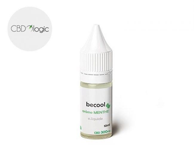 E liquide Menthe CBD (300mg) - Becool (Cbdologic)