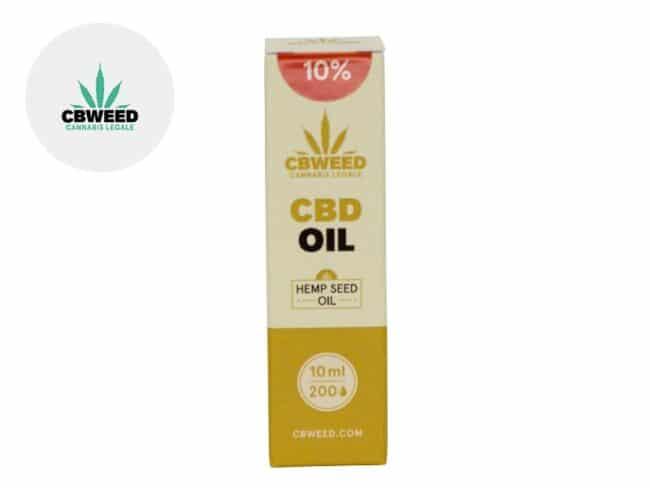 Huile CBD 10% Bio Huile de chanvre (10ml) - Cbweed