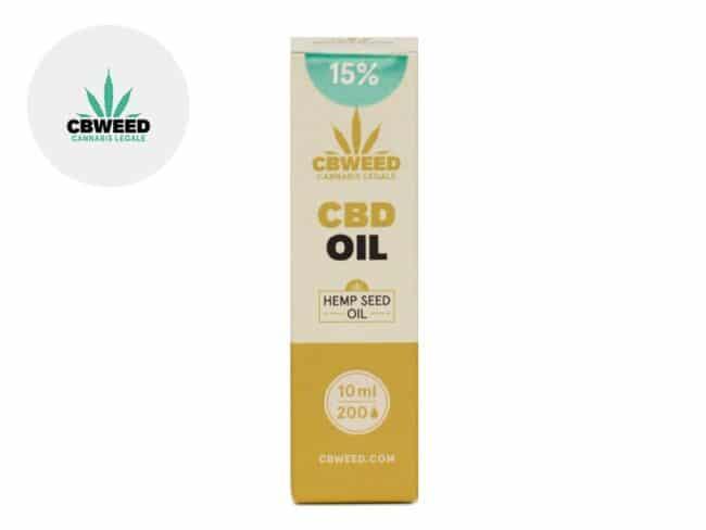 Huile CBD 15% Bio Huile de chanvre (10ml) - Cbweed