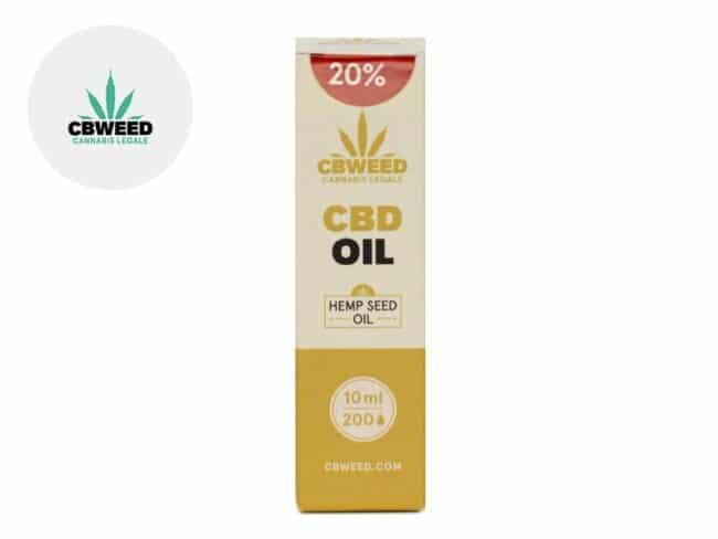 Huile CBD 20% Bio Huile de chanvre (10ml) - Cbweed
