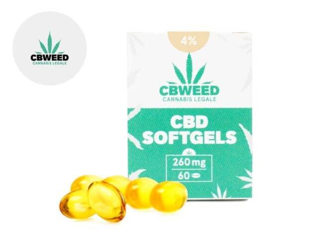 Capsules CBD 384mg - Cbweed