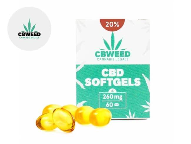 Capsules CBD 1920mg - Cbweed