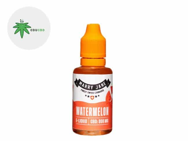 E liquide Watermelon CBD (300mg) - Marry Jane