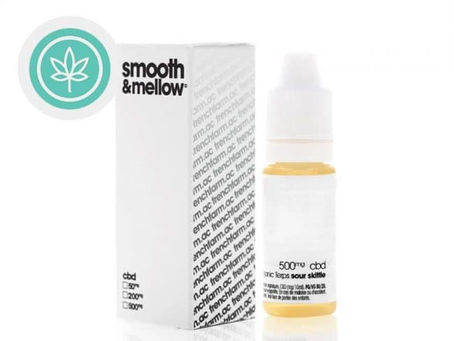 E liquide Sour Skittle CBD (500mg) - French Farm