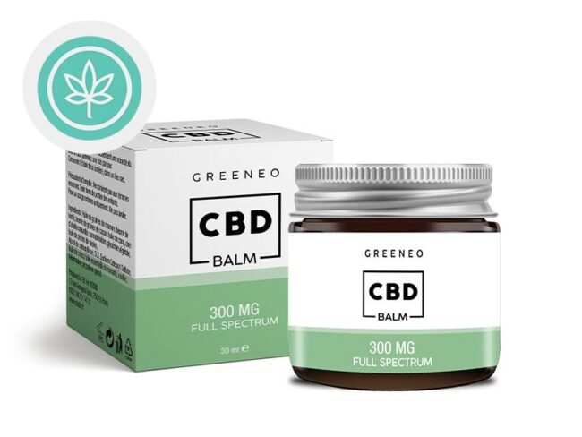 Baume CBD 300mg Greeneo