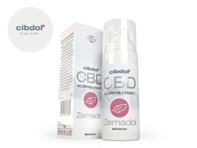 Crème CBD contre l'Eczéma Cibdol