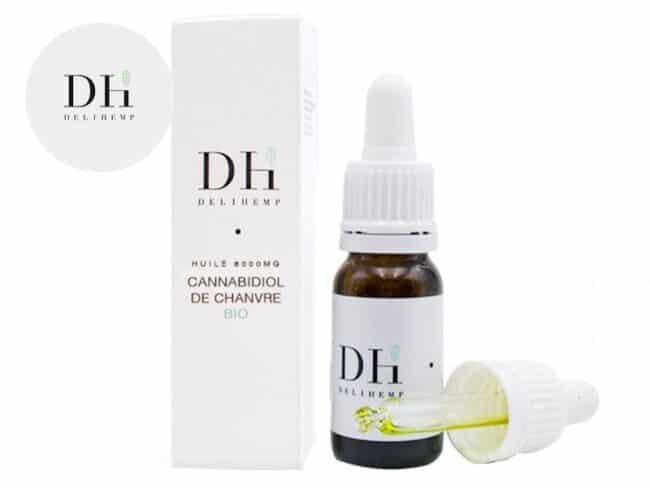 Huile CBD 60% Bio (10ml) - Deli Hemp
