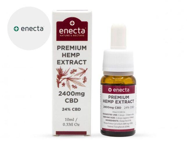Huile CBD 24% Bio (10ml) - Enecta