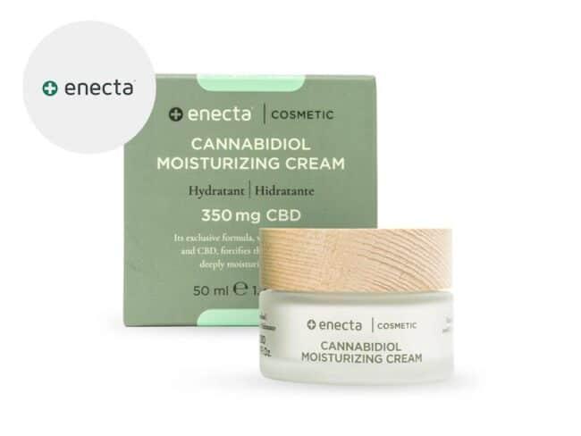 Crème CBD hydratante Enecta