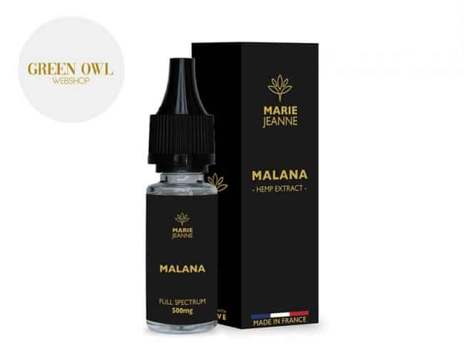 E liquide Malana CBD (500mg) - Marie Jeanne