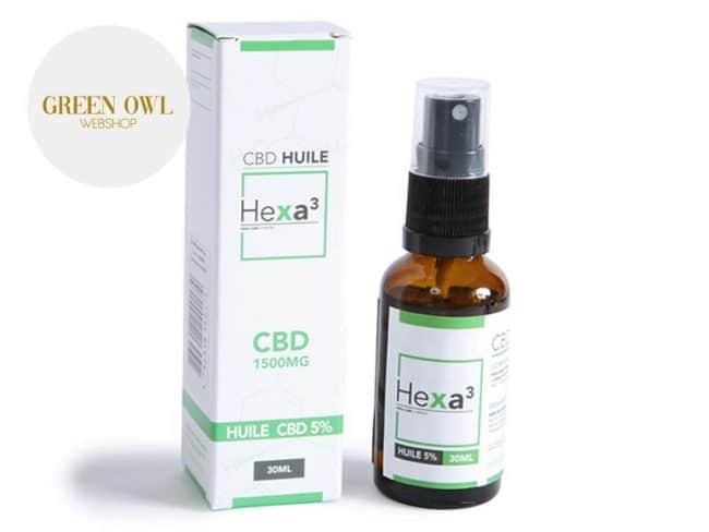 Huile CBD 5% Bio (30ml) - Hexacube
