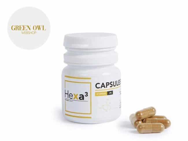 Capsules CBD 200mg - Hexacube