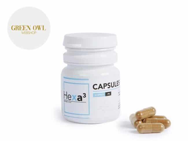 Capsules CBD 400mg - Hexacube