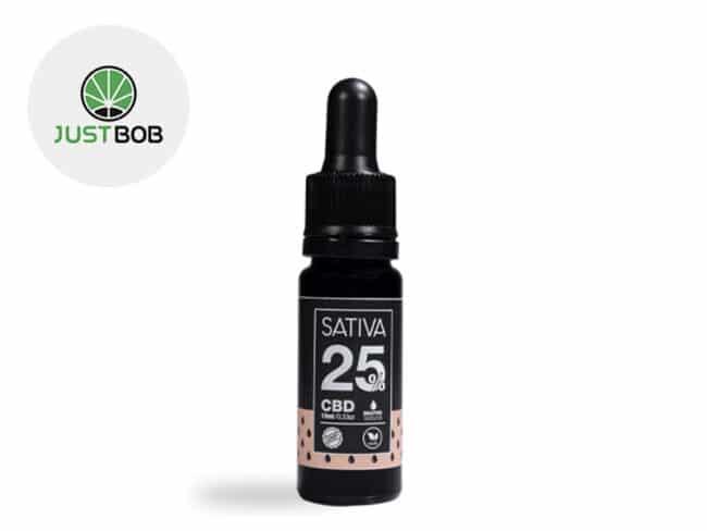 Huile CBD 25% Bio (10ml) - JustBob