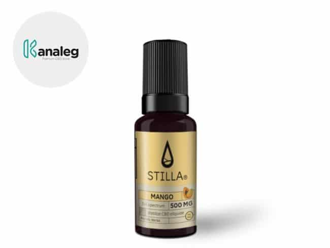 E liquide Mangue CBD (500mg) - Stilla