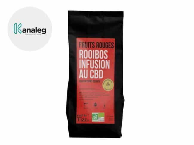 Infusion CBD Thé bio Fruits Rouges - Tizz