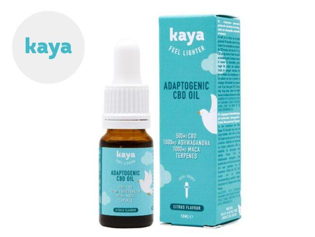 Huile CBD 5% Bio (10ml) - Kaya
