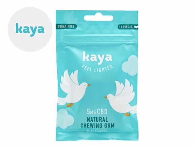 Chewing-gums CBD relaxant (Kaya)