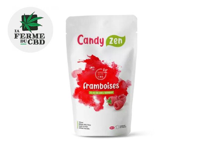 Bonbons Framboise bio CBD (La Ferme Du Cbd)