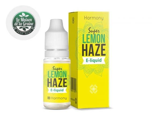 E liquide Lemon Haze CBD (600mg) - Harmony