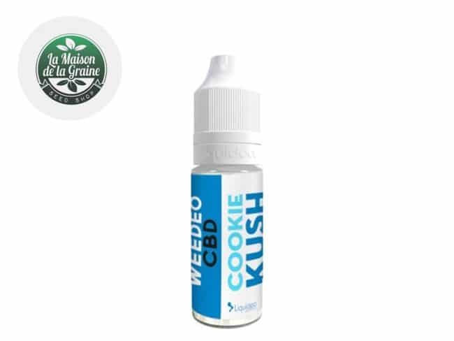 E liquide Cookie Kush CBD (300mg) - Weedeo