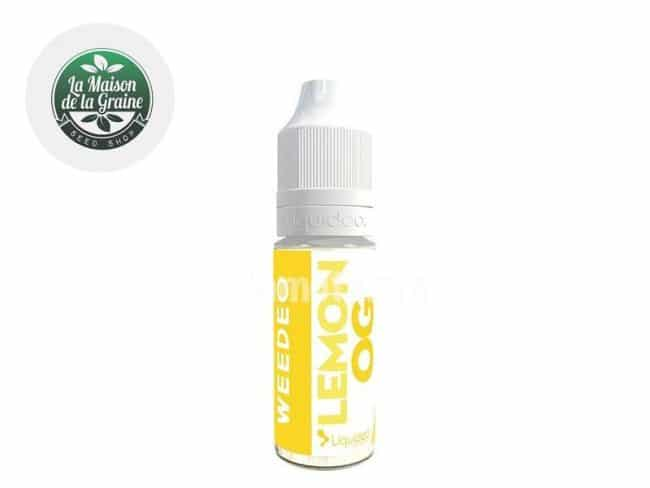 E liquide Lemon OG CBD (100mg) - Weedeo