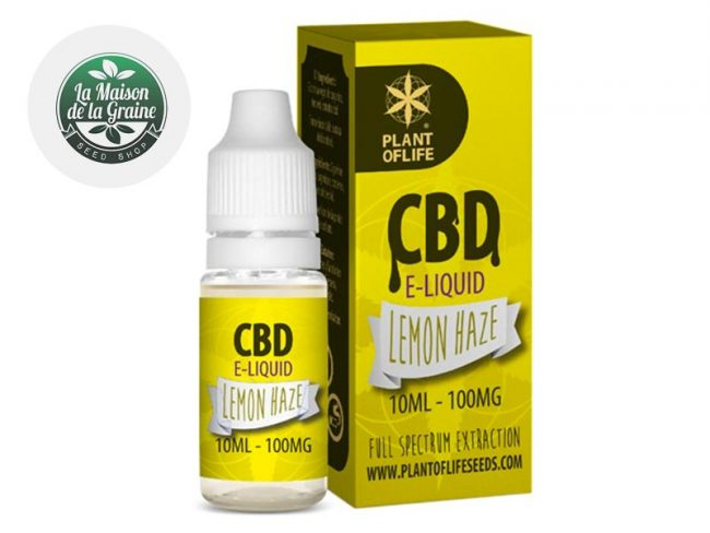 E liquide Lemon Haze CBD (100mg) - Plantoflife