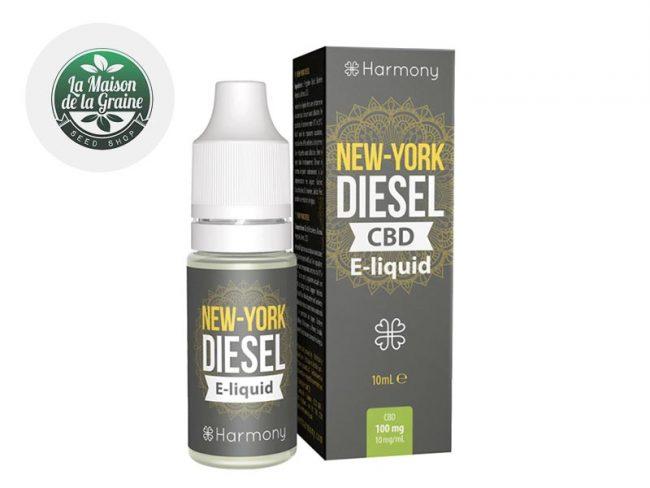 E liquide New York Diesel CBD (600mg) - Harmony
