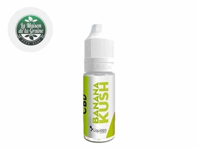 E liquide Banana Kush CBD (300mg) - Weedeo