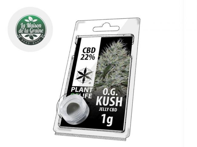 Og Kush Résine CBD 22% - Plantoflife