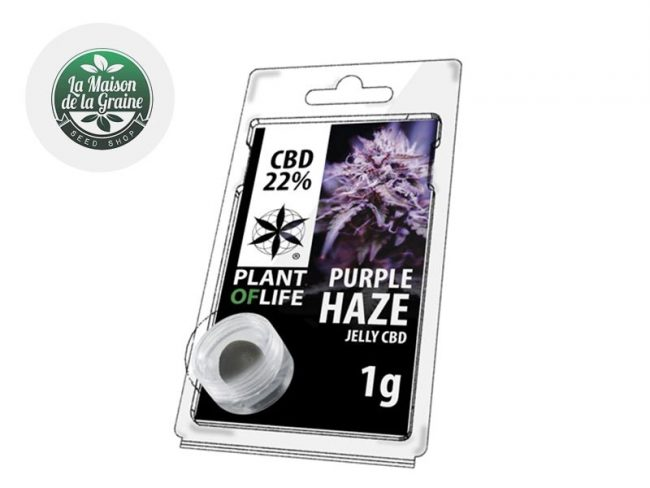 Purple Haze Résine CBD 22% - Plantoflife