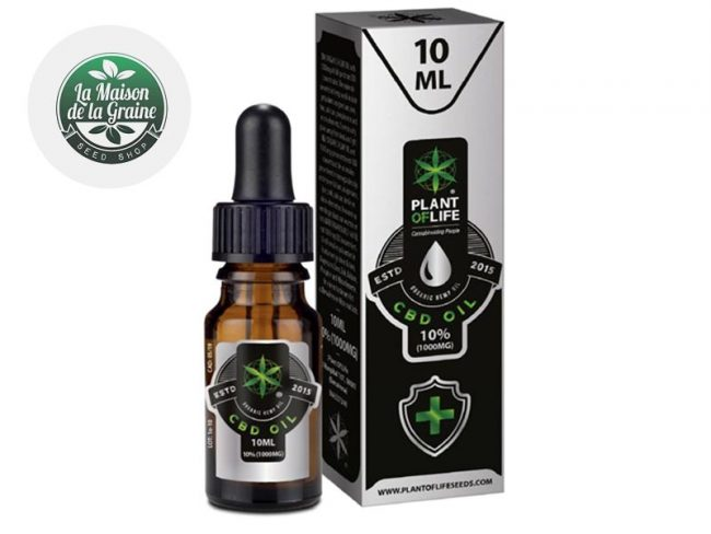 Huile CBD 10% Bio (10ml) - Plantoflife