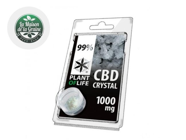 Cristaux CBD 99% - Plant of life
