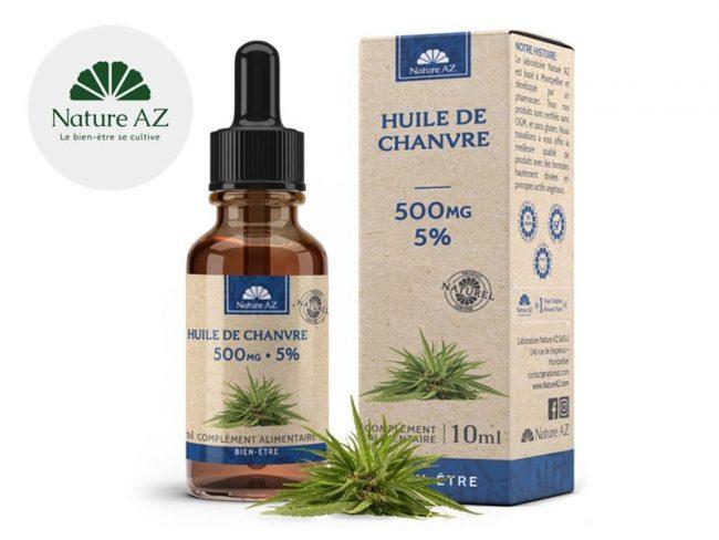 Huile CBD 5% Bio (10ml) - NatureAZ