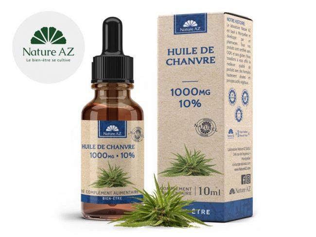 Huile CBD 10% Bio (10ml) - NatureAZ