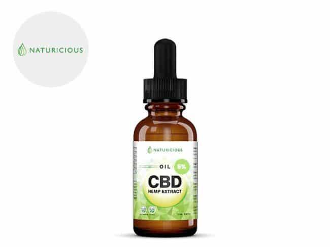 Huile CBD 5% Bio (10ml) - Naturicious