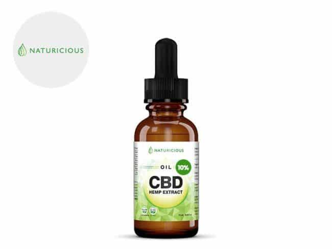 Huile CBD 10% Bio (10ml) - Naturicious