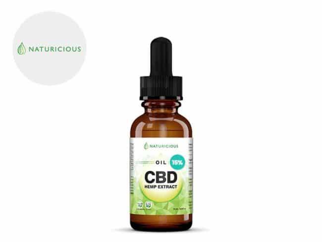 Huile CBD 15% Bio (10ml) - Naturicious