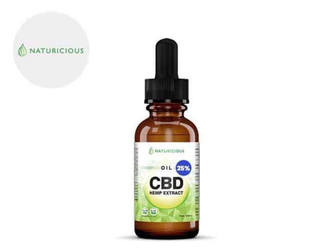 Huile CBD 25% Bio (10ml) - Naturicious