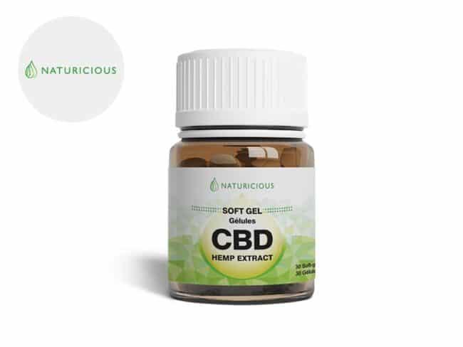 Gélules CBD 300mg - Naturicious