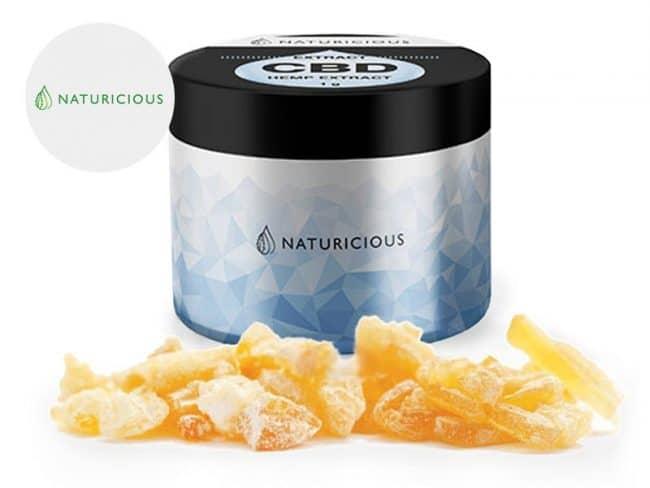 Crumble 58% CBD - Naturicious