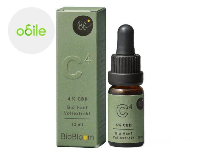Huile CBD 4% Bio (10ml) - Odile Green